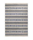 Orian Navajo Dancing Feet Blue Area Rug