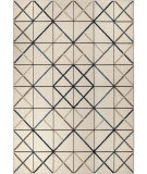 Orian Farmhouse Geo Matrix Seashell Area Rug