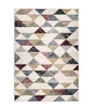 Orian West Village Bermuda Soft White Texture Area Rug