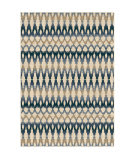 Orian Four Seasons Ikat Ombre Seashell Area Rug