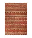 Orian Mardi Gras Zemmour Red Area Rug