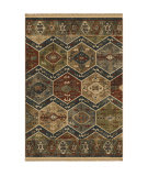 Orian Voyage Tribal Panel Teawash Area Rug