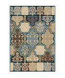 Orian Four Seasons Yandell Blue Area Rug