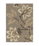 Orian Nuance Lily Taupe Area Rug