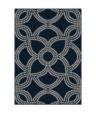 Orian Farmhouse Woolmark Catalina Blue Area Rug