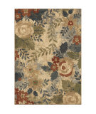 Orian Marrakesh Garden Medley Cream Area Rug