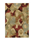Orian Wild Weave Misty Rouge Area Rug