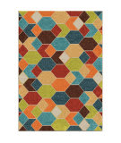Orian Veranda Diamond Struck Multi Area Rug