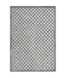 Orian Boucle Fusion Lattice Silverton Area Rug