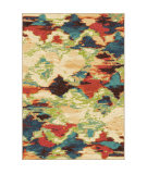 Orian Spoleto Diamond Patches Multi Area Rug