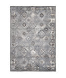 Orian Bali Afternoon Showers Gray Blue Area Rug