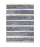 Orian Navajo Traverse Blue Area Rug