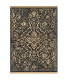 Orian Marrakesh Eastern Shadow Navy Area Rug