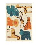 Orian Kids Court Safari Beige Area Rug