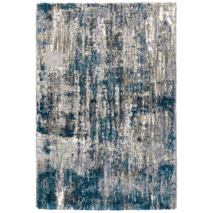 Oriental Weavers Aspen 2061l Grey - Blue Area Rug