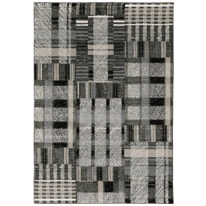 Oriental Weavers Atlas 752c0 Black - Grey Area Rug