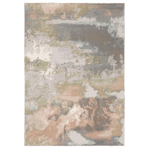 Oriental Weavers Capistrano 536a1 Grey - Pink Area Rug