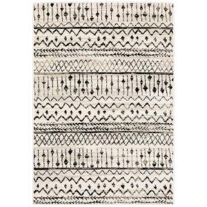 Oriental Weavers Georgia 8826e Ivory - Black Area Rug