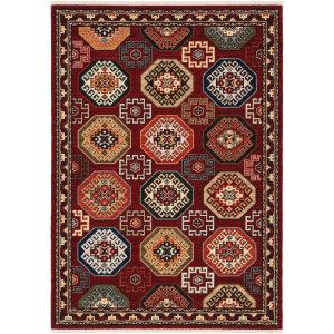 Oriental Weavers Lilihan 091r6 Red - Multi Area Rug