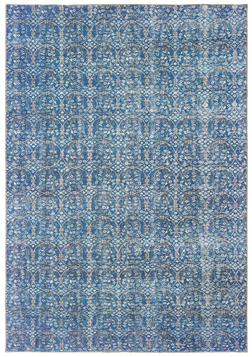 Oriental Weavers Sofia 85815 Blue Brown Rug Studio