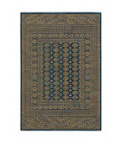 Oriental Weavers Ankara 602k5 Blue - Gold Area Rug