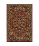 Oriental Weavers Ankara 604r5 Red - Blue Area Rug