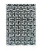 Oriental Weavers Bowen 1333b Navy - Ivory Area Rug