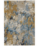 Oriental Weavers Evolution 0980A Blue - Gold Area Rug