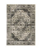 Oriental Weavers Georgia 429g0 Grey - Black Area Rug