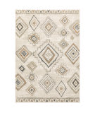 Oriental Weavers Georgia 660b0 Ivory - Orange Area Rug