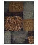 Oriental Weavers Hudson 4878B Teal/Brown Area Rug