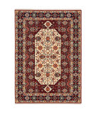 Oriental Weavers Lilihan 1802w Red - Ivory Area Rug