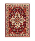 Oriental Weavers Lilihan 5502c Red - Ivory Area Rug