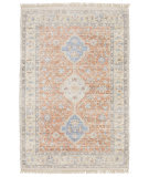 Oriental Weavers Malabar 45305 Orange - Blue Area Rug