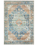Oriental Weavers Myers Park MYP03 Rust - Blue Area Rug
