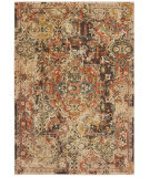 Oriental Weavers Toscana 9555B Charcoal - Orange Area Rug