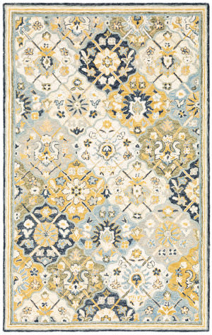 Oriental Weavers Alfresco 28406 Blue - Gold Area Rug