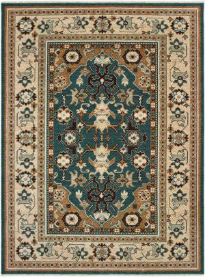 Oriental Weavers Anatolia 5502l Teal - Sand Area Rug