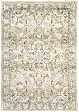 Oriental Weavers Andorra 9818g Beige - Ivory Area Rug