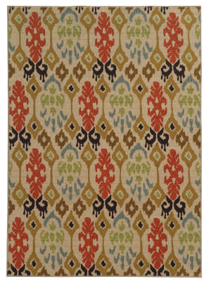 Oriental Weavers Arabella 15765 Beige/Multi Area Rug