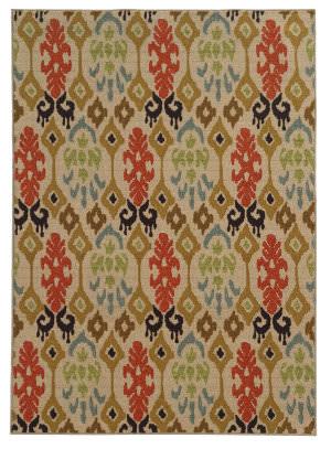 Oriental Weavers Arabella 15765 Beige/Multi Area Rug