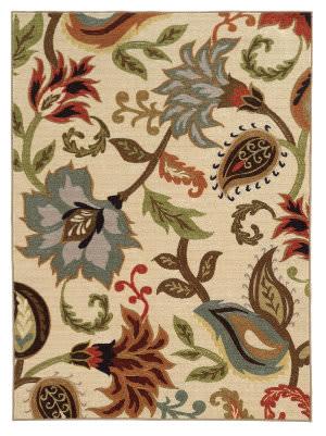 Oriental Weavers Arabella 15927 Ivory/Multi Area Rug