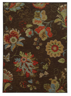 Oriental Weavers Arabella 41908 Brown Area Rug