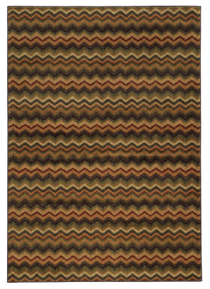 Oriental Weavers Aston 2068f Brown Area Rug