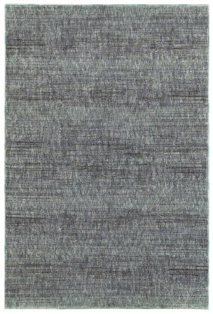 Oriental Weavers Atlas 8033j Blue - Grey Area Rug