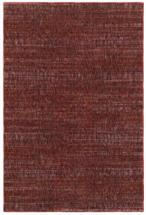 Oriental Weavers Atlas 8033k Red - Rust Area Rug