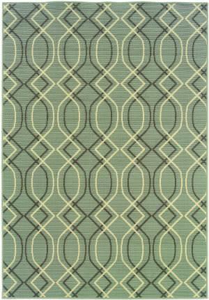 Oriental Weavers Bali 4926l Slate Grey Area Rug