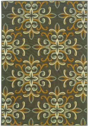 Oriental Weavers Bali 8990h Gray Area Rug