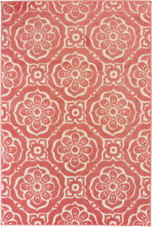 Oriental Weavers Barbados 539o4 Pink - Ivory Area Rug