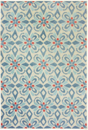 Oriental Weavers Barbados 5994z Blue - Ivory Area Rug